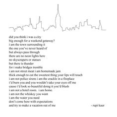 When I heard Rupi Kaur read this ~ it made me shake, brought tears to my eyes .... As if she read my own standards