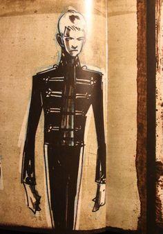Gerard's concept art for black parade
