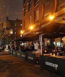 Menus | Tenth Avenue Cookshop - dinner, drinks, snacks outside