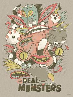 Nickelodeon Creator Series Posters - Christopher Lee - Real Monsters