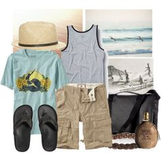 Surfin' U.S.A, created by martine on Polyvore