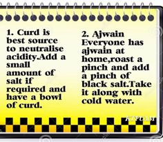 Practical Life Tips For You And Me: #Neutralising #Acidity