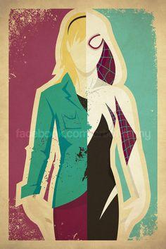 Spider-Gwen facebook.com/artofdanny