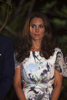 The Duchess wearing a dress by Erdem