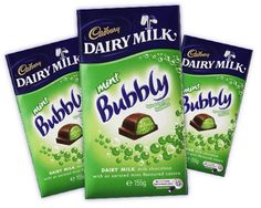 Cadbury Dairy Milk Mint Bubbly