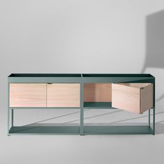 New Order Shelving System - Panels by HAY