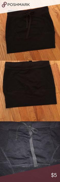 Sweatshirt Skirt Heavyweight Skirt, mini slim fitting, super cute on.  Boxer craft girl brand.  Stretchy. Skirts Mini