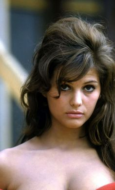 Claudia Cardinale I always thought she was so beautiful.