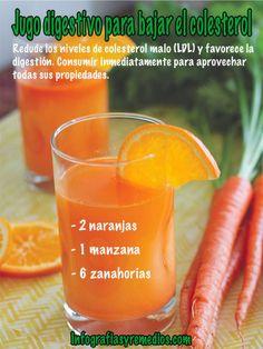 Reduce los niveles de colesterol malo (LDL) y favorece la...