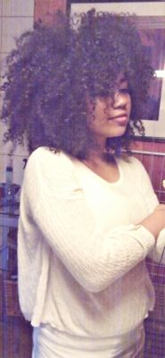 I'd love to be able to rock my hair this big without a care in the world!