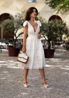 Nothing says Summer quiet like a light white dress ... more on the blog Happy to see you there  http://liketk.it/2rG5G @liketoknow.it  . . . #ootd #wiwtd #whitesummerdress #whitecottondress #lightdress #flowydress #eyeletdress #tieshoulderdress #bohemianstyle #chicstyle #summerwhites #latesttrends #summerstyle #prettydresses #effortlesschic #fashionblogger #styleblogger #mystyle #lookbook #outfitinspo #fashioninspiration #liketkit#womenswear #styleadvice  #fashiondiaries #blogger #streetst