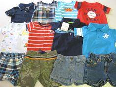 Baby Boy Clothes 6 M Months 12 Pc Lot Levi Koala Kids Carters
