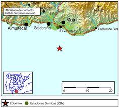 Un fuerte terremoto se siente en Motril, Granada, 25 marzo