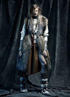 #BetteFranke by #TobyKnott for #VogueSpain November 2014
