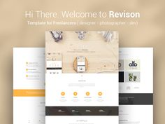 Revison. Template for Freelancers Update by KonnstantinC