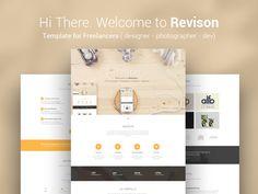 Revison. Template for Freelancers Update by KonnstantinC