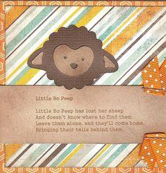 Vintage Nursry Rhyme Card 2