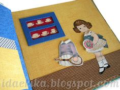 Livro de bonecas - workshop de cartonagem