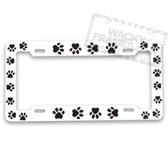 Daddy/'s Girl Hot Pink Metal License Plate Frame
