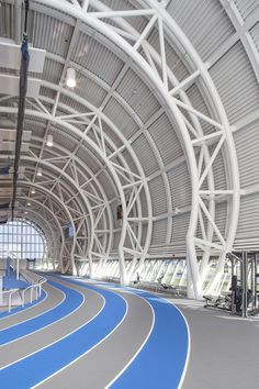 Gallery of Abilities Centre / B+H Architects - 6 Metal Shop Building, Steel Building Homes, Steel Trusses, Roof Trusses, Truss Structure, Steel Structure, Stadium Architecture, Architecture Details, Architectes Zaha Hadid