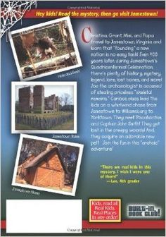 The Mystery at Jamestown (Real Kids, Real Places): Carole Marsh: 9780635063151: Amazon.com: Books