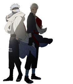 Kakashi and naruto Naruto Kakashi, Anime Naruto, Comic Naruto, Naruto Fan Art, Manga Anime, Otaku Anime, Naruhina, Blade Runner, Team Minato