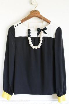 ネックレスにして秋冬コーディネートと合わせるのもとってもキュート。 こんな風にリボンをつけるのも女性らしくて素敵。 色の合わせ方も上手ですね!