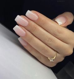 7 masks to prepare yourself against acne and blemishes. Natural Acrylic Nails, Simple Acrylic Nails, Best Acrylic Nails, Simple Nails, Frensh Nails, Cute Nails, Pretty Nails, Classy Nails, Stylish Nails