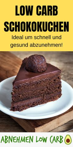 Lose weight in the diet with these delicious low carb chocolate cakes! Mega healthy, low in calories and made easy!Low Carb Chocolate Cake - Slimming - Slimming Low CarbAbnehmen Low Carb abnehmen_lowcarb Low Carb Dessert Lose weight in the diet with Low Carb Desserts, Healthy Dessert Recipes, Keto Snacks, Easy Desserts, Low Carb Recipes, Healthy Snacks, Dessert Food, Dessert Simple, Low Carb Chocolate Cake