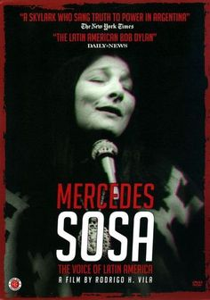 Mercedes Sosa: The Voice of Latin America [DVD] [2013]