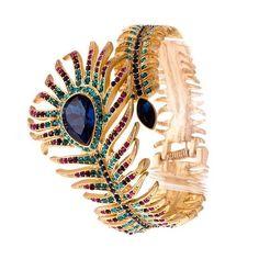 Persian Royal Peacock Bracelet