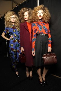 Marc by Marc Jacobs - I wonder how long it took to get the hair on these models looking like my morning bed hair? :)