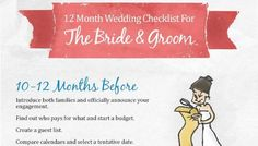 A Super Helpful 12 Month Wedding Planning Checklist - a Very Useful Resource To Help You Plan Your Wedding At a Glance! Wedding Costs, Plan Your Wedding, Wedding Events, Weddings, Wedding Ideas, Wedding Band, Diy Wedding, Wedding Decorations, Event Planning Tips