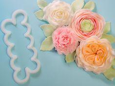Tutorial Easiest Rose Cutter Ever Flowers (buttercup, English Rose, Rose, carnation) Bericht zum kreativen Pop-UP Event Berlin der Ferratum Bank #sponsored #Werbung #FerratumGeneration