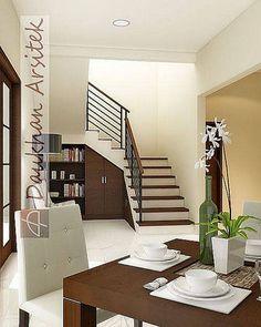 Sketsa 3D Interior Rumah Minimalis di Kemang Pratama Bekasi #arsitek dan #interior by www.DParsitek.com
