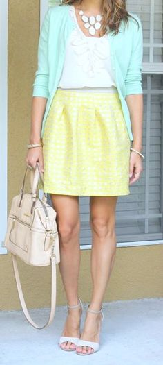 Pastel <3 #pastel #mint The Fashion: Gorgeous dress black fur Summer outfits Teen fashion Cute Dress! Clothes Casual Outift for •. summer • fall • spring • winter • outfit ideas • dates • school • parties mint cute sexy ethnic skirt