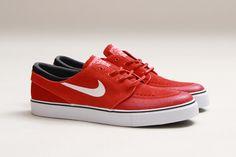 new style 73fbc 7e933 Nike SB Stefan Janoski SE (Light Crimson Gym Red) - Sneaker Freaker