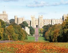 Windsor Castle with the Long Walk in the foreground ... I'll be there :) soon :)