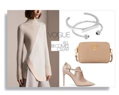 """""""Untitled #102"""" by orly-mandelbaum ❤ liked on Polyvore featuring Valentino, Edge of Ember and Prada"""