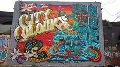 Inkie & Flesh031& Amara por Dios for City of Colors festival in…