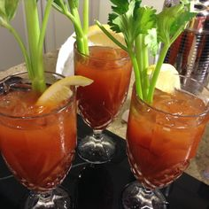 Neapolitan herb balsamic bloody mary By: Chef Jason Lucas of Char's ...