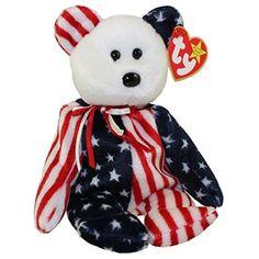f2804e2a8ec Ty Beanie Babies Spangle the bear (white head version) Ty Beanie Buddies