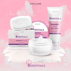 Si esas manchas en tu cara te arruinan el día cada vez que te ves al espejo, prueba la línea Essentials Fairness, con complejo aclarador de la piel dermatológicamente probado. ¡Es apta para toda edad y tipo del piel! #Essentials #OriflameMX