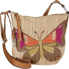 Fossil Butterfly  Purse I think its cute for the kids