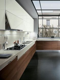Fabulous Modern Kitchen Sets on Simplicity, Efficiency and Elegance - Home of Pondo - Home Design Best Kitchen Designs, Modern Kitchen Design, Interior Design Kitchen, Modern Design, Room Interior, Küchen Design, Design Case, House Design, Design Ideas
