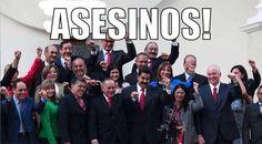 RT @LibertadXD ASESINOS DE LA PATRIA... La Haya LOS ESPERA... CONÓCELOS PUEBLO: pic.twitter.com/Xpj3b9YTa7 @Diego_Arria #sumateALaGuarimba