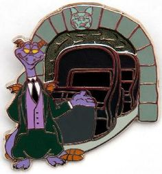 Figment and the Haunted Mansion, a nice combination. I <3 Figment!