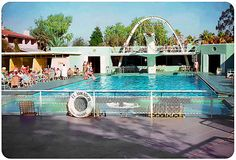 El Mirador Hotel Pool, Palm Springs, California - 1953