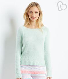 LLD Eyelash Sweater - Aeropostale