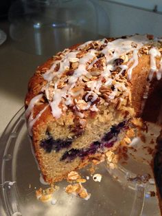 Blueberry coffee cake from Martha Stewart living mag